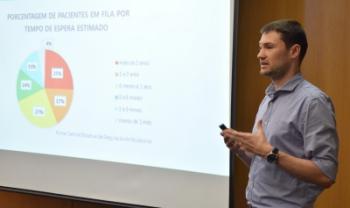 Mestrando Ricardo Collar Rebolho apresenta proposta de telemedicina