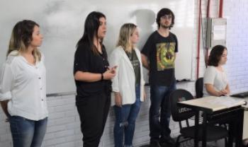 Estudantes apresentam resultados das consultoria