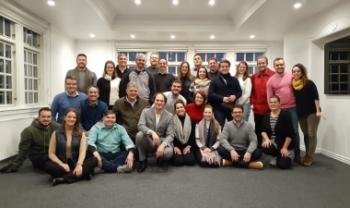 Participantes do programa em Copenhagen (Dinamarca)