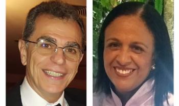 Docentes Jorge Musse e Vera Marques Santos estão inscritos para eleição de 18 de março - Fotos: Divulg.