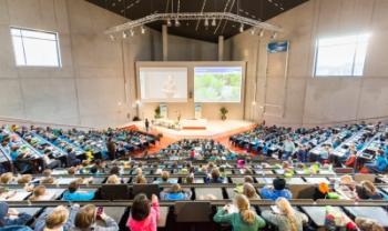 Universidade de Duisburg-Essen, na Alemanha, foi uma das instituições visitadas com apoio do edital