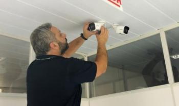 Câmeras já estão sendo instaladas em unidades do  campus I da Udesc