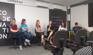 Painel discutiu impacto da presença feminina na tecnologia - Foto: Divulgação