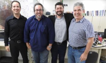 Mayco Morais, Fábio Napoleão, Dilmar Baretta e Luiz Coelho