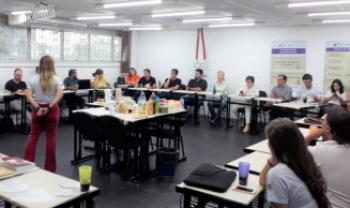Grupo de MS foi recebido pela equipe do Observatório na Udesc Esag, em Florianópolis