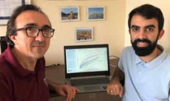 Vinícius criou a aplicação, sob orientação do pai, Heronaldo, durante a quarentena por causa da pandemia - Foto: divulgação