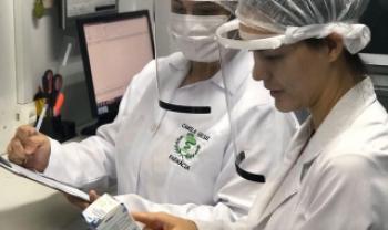 Hospital Beatriz Ramos, em Indaial, recebeu 30 protetores faciais
