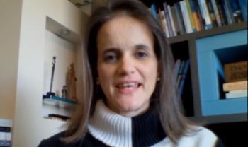Professora Paula Chies Schommer, líder do grupo de pesquisa Politeia