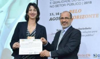 Estudo da docente Valkyrie Vieira Fabre foi premiado em congresso internacional em 2018 - Foto: Divulg.