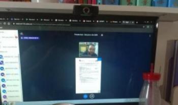 Aula online de Administração Pública da Udesc Esag