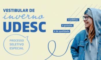 Udesc tem mais de mil vagas - Arte: LabDesign/Ceart
