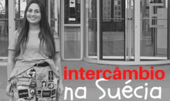 Carolina Mônaco, intercambista da Udesc em Jönköping