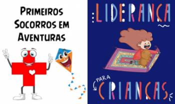 Livros publicados pelo programa Esag Kids