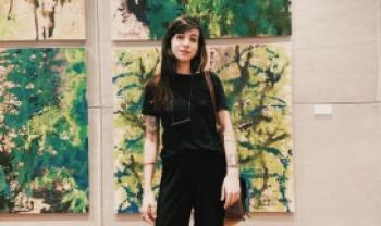 A aluna selecionada Thays Tonin, pós-doutoranda do PPGAV Udesc. Imagem: Divugação.