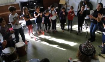 Curso promove práticas criativas no ensino da música Imagem: Acervo das Oficinas de Música do MUSE (Ceart)