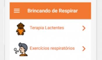Ferramenta foi criada por alunos e docentes que integram o programa Brincando de Respirar