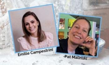 Emille Campestrini e Pat Malinski participarão de atração em live no mês de outubro.