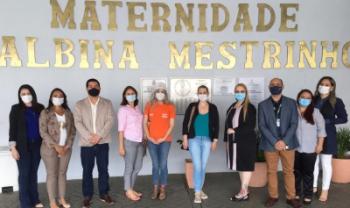 Edlamar (no centro, de blusa azul) faz parte do grupo de avaliadores em ação nacional