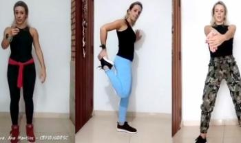 Professora da Udesc Cefid produz vídeos de ginástica laboral