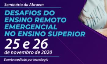 Evento poderá ser acompanhado ao vivo pelo canal do Youtube da Abruem.