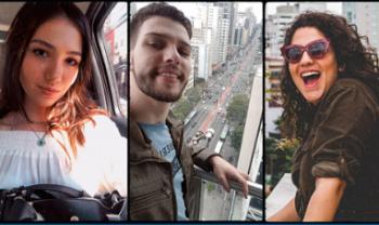 Julia, Glauber e Sofia fizeram mobilidade em São Paulo e contaram suas experiências no podcast Intercâmbio, da Udesc Esag