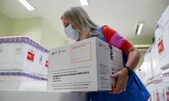 Primeiro lote de vacinas contra Covid-19 já chegou a Santa Catarina- Foto: Ricardo Wolffenbüttel/Gov SC