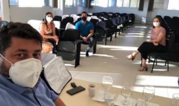 Reunião da Udesc Oeste em Pinhalzinho