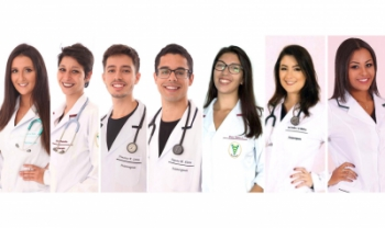 Sete egressos do curso de graduação em Fisioterapia foram selecionados por programas - Fotos: Divulgação