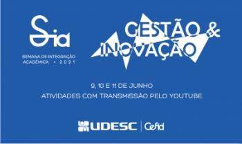 Evento terá três dias de atividades online - Arte: Div.
