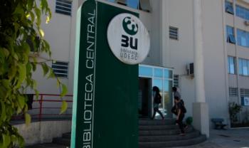 Biblioteca Central da Udesc está localizada no campus I, bairro Itacorubi, na Capital