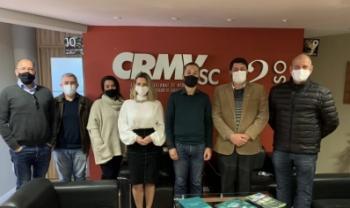 Gestores da Udesc visitaram o CRMV-SC