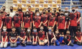 Equipe do Ibad em evento estadual