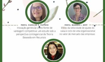 Professoras da Udesc Alto Vale apresentarão teses de doutorado - Arte: Divulgação