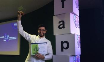 Newton da Costa ficou em primeiro lugar, com estudo sobre conservação da araucária - Foto: Divulgação