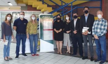 Professores da Udesc Esag recebem comitiva da cidade de Juazeiro do Norte (CE) para presentar projetos de ensino, pesquisa e extensão