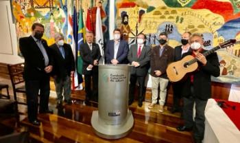 Evento ocorreu no Palácio Cruz e Souza - Fotos: Div.